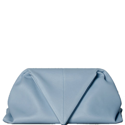 Triangle Fold Clutch, Ice