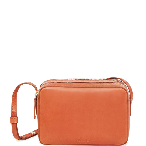 Double Zip Crossbody VT, Brandy