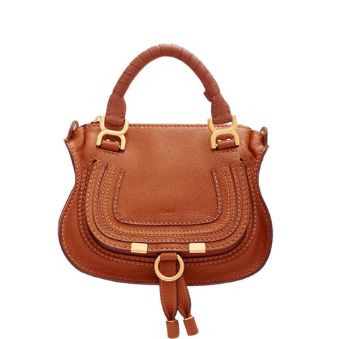 Marcie Mini Top Handle, Tan