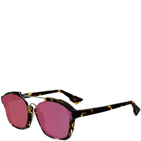 Dior Abstract Sunglasses, Havana/Violet
