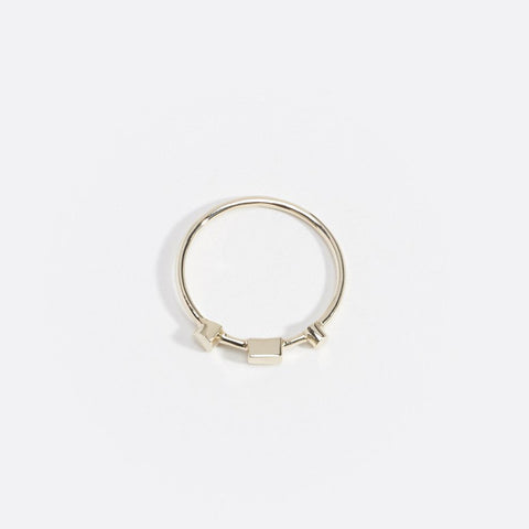 Artemis Ring III, 9kt Yellow Gold