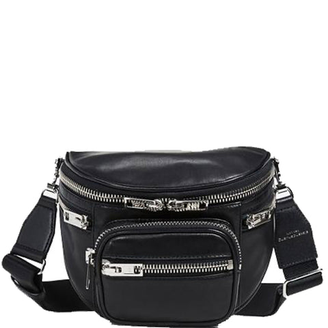 Attica Soft Fanny Messenger, Black
