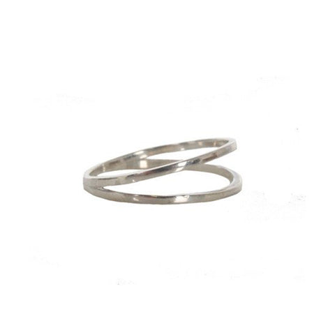 Plane Ring, Silver