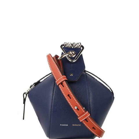 Zippered Pochette, Electric Blue