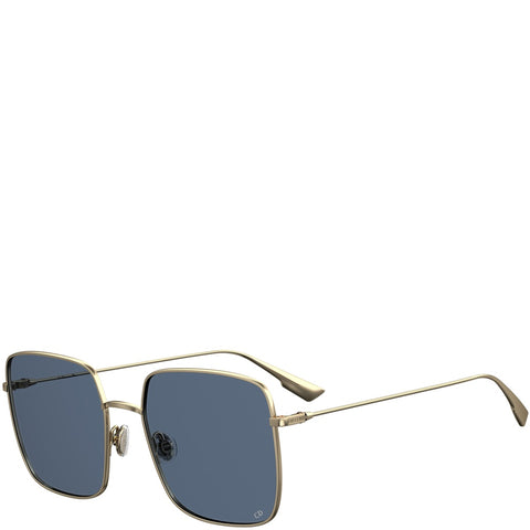 Dior Stellaire 1 XS Sunglasses, Gold/Blue
