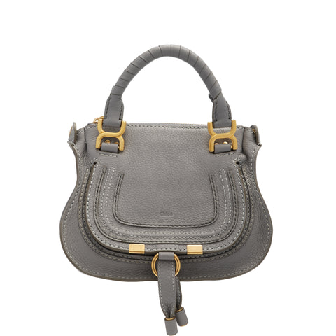 Marcie Mini Top Handle, Cashmere Grey