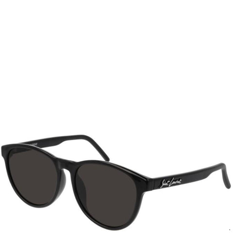 YSL SL335/F Signature Sunglasses, Black