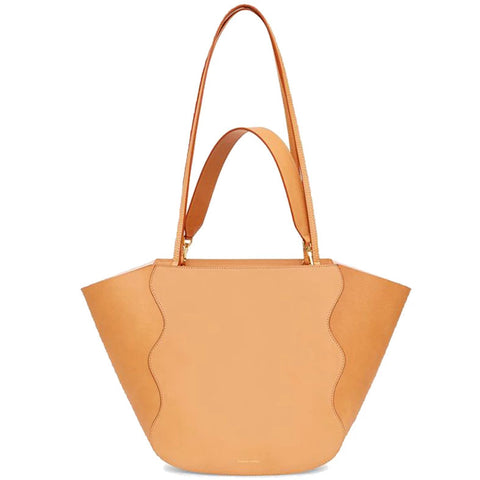 Ocean Tote, Vegetable Tanned Cammello/Rosa