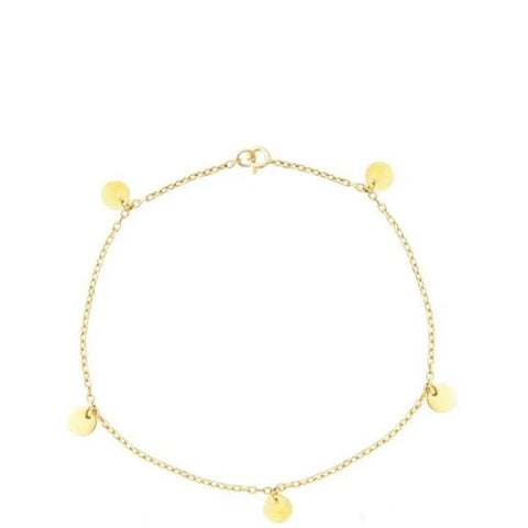 Kelly Anklet, Gold