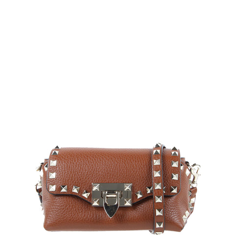 Pouch Crossbody Bag Mini, Cognac