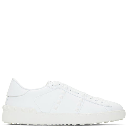 Open Sneaker Untitled, White/White