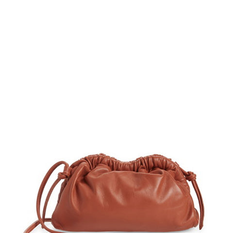 Cloud Clutch Mini Lambskin, Terra