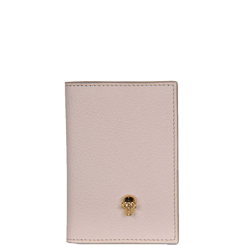 Card Organiser Grained, Nude/Gold