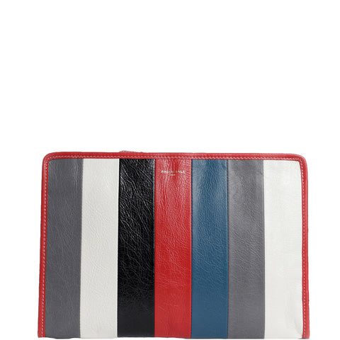 Bazar Pouch, Red/Blue