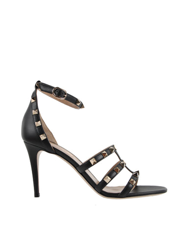 Strappy 85 Sandal, Black
