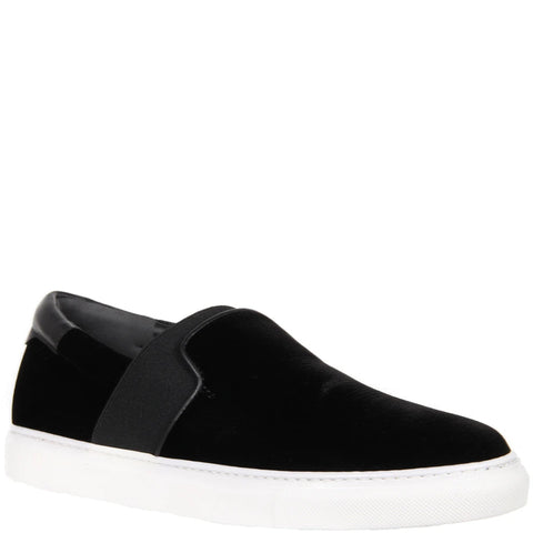 Slip-On Sneakers Velvet, Black