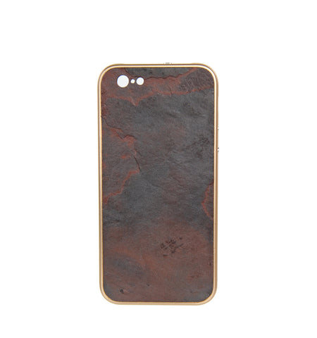 iPhone 6 / 6S  Case, Champagne/Volcano Dust
