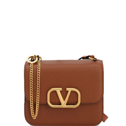 VSling Shoulder Bag Small Grained, Selleria