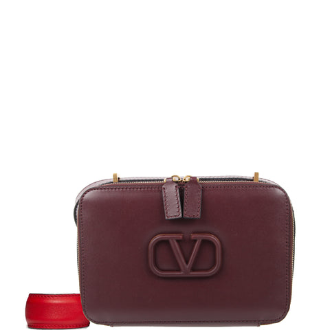 VSling Box Medium Crossbody, Rubin