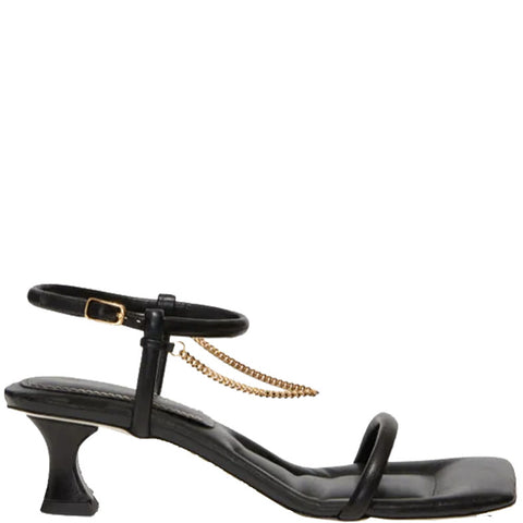 Chained Sandal 50, Black