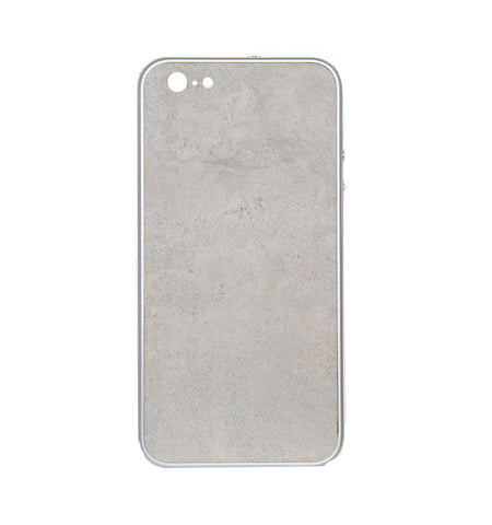 iPhone  6+ / 6S+ Case, Silver/White Beach