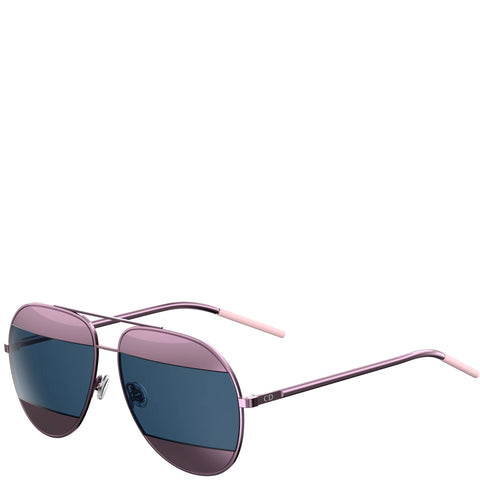 Dior Split Sunglasses, Pink/Navy