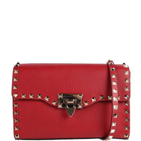 Medium Flap Grained, Red