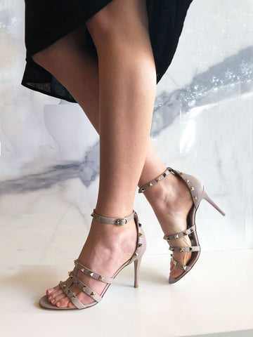 d04aff3972d Strappy 85 Sandal, Black by Valentino - Cultstatus