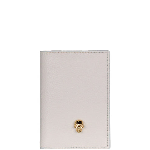 Card Organiser Grained, Off White/Gold
