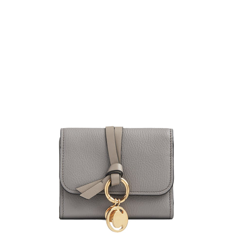 Alphabet Mini Wallet, Cashmere Grey