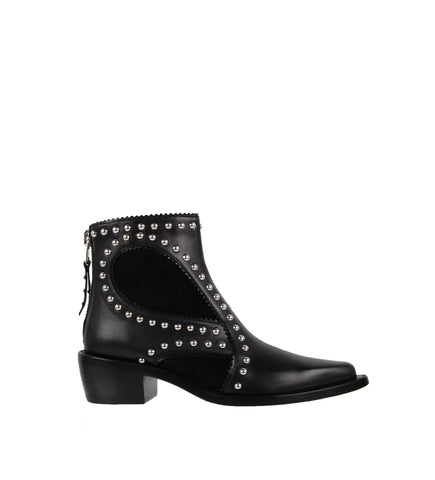 Studded Boots, Black