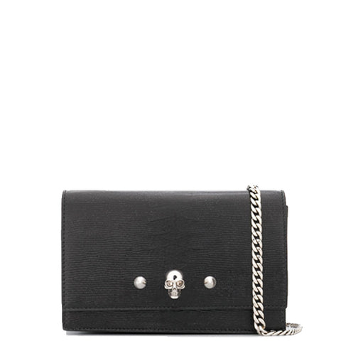 Skull Mini Bag, Stingray/Silver