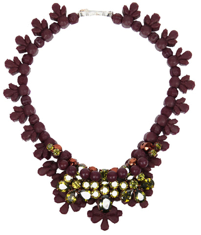 Avalon Necklace, Grape