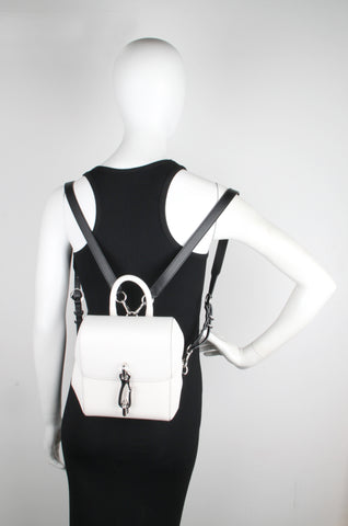 Hook Backpack, Black and White