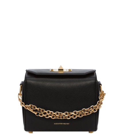 Box Bag 19 Grained (G), Black
