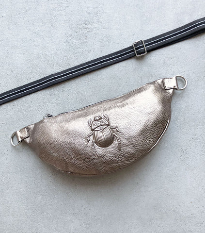 Belt Bag Medium Scarab, Bronze
