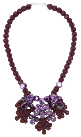 Beverley Necklace, Grape