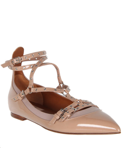 Love Latch Ballerina Patent, Noisette
