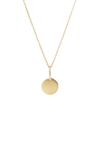 Bell 45 Necklace, Gold
