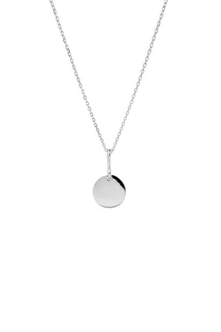 Bell 45 Necklace, Silver