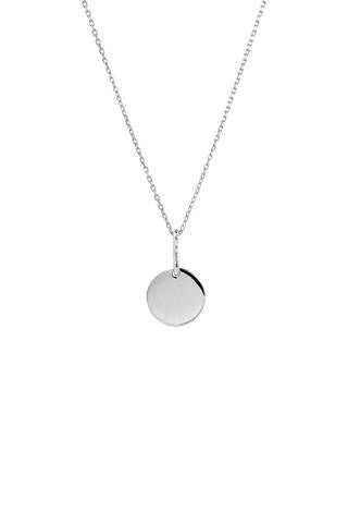 Bell 65 Necklace, Silver