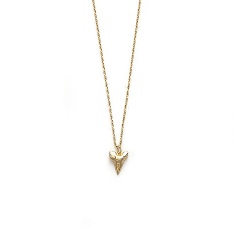 Bite Me Necklace, Gold