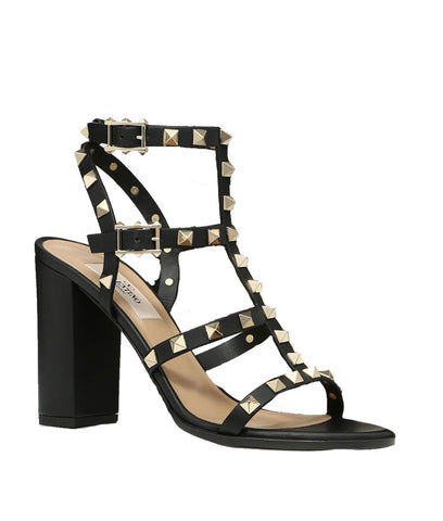 Gladiator Block Heel 90, Black