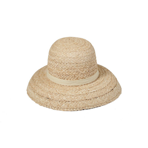 Bloom Raffia Hat, Natural