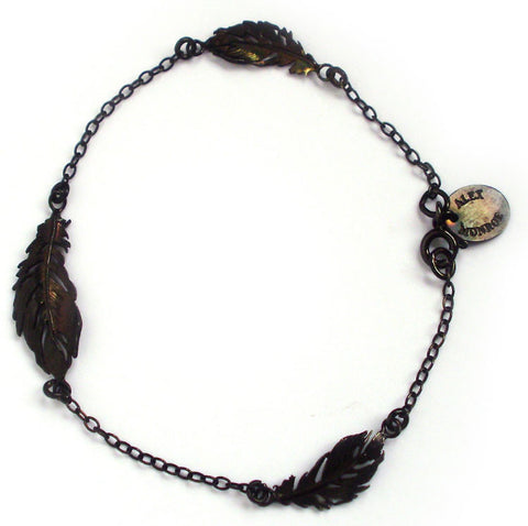 Crow Feather Bracelet