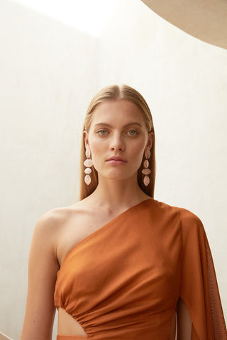 Ida Earrings, Pink