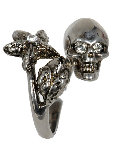 Twin Claw Ring Silver