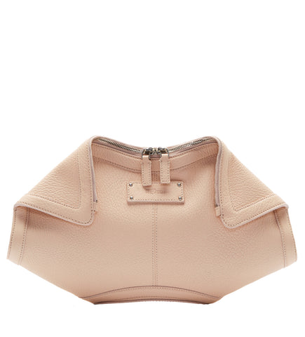 De Manta Leather Clutch, Teint
