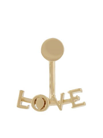 Messages Earring, Love