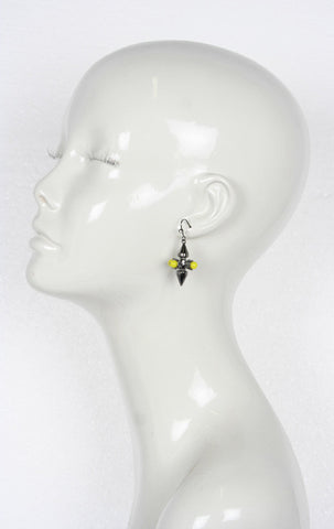 Double Spike Earrings